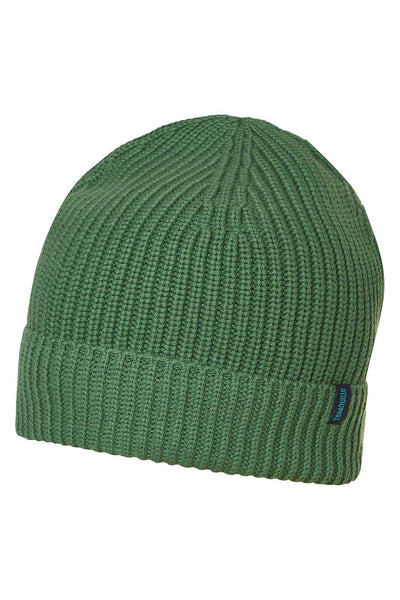 Organic Cotton Knit Beanie Green
