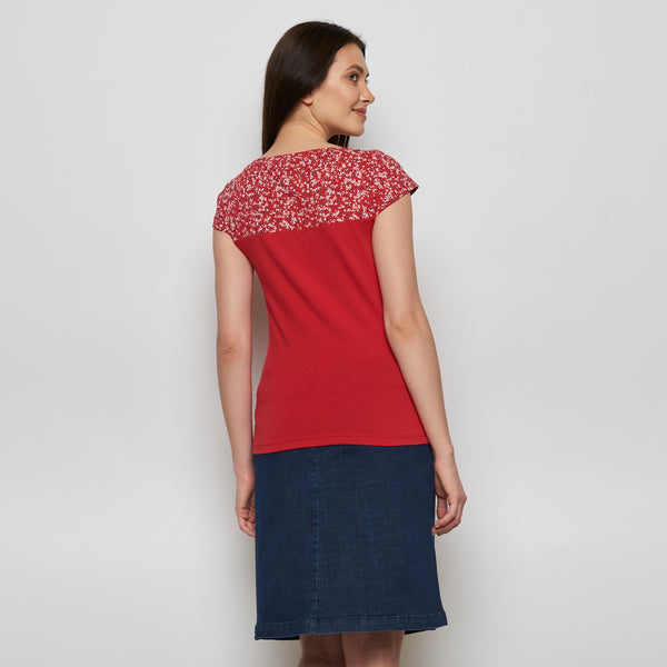 Jersey Top Kanzi Red