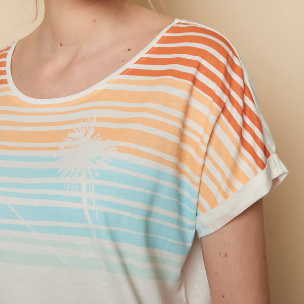 Sunset Tee Cream