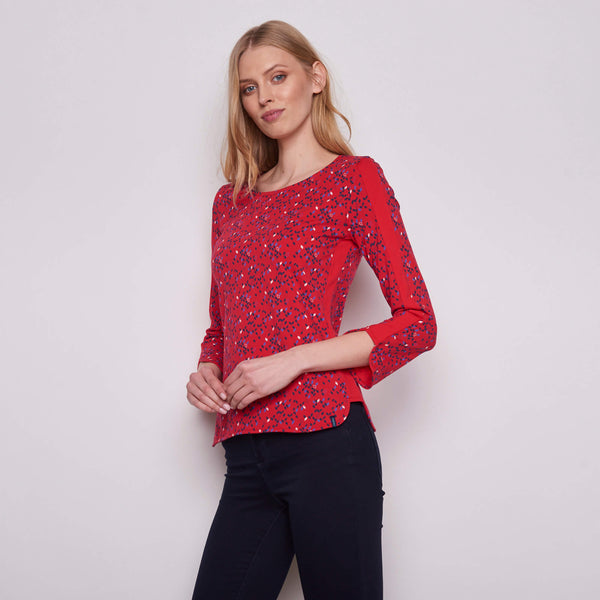 Long Sleeve Top Red Kite
