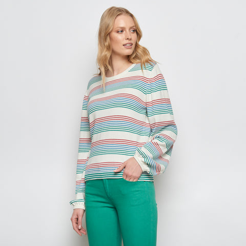 Coloured Striped Sweater