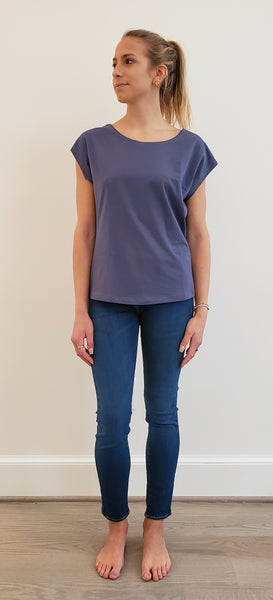 Top Rosie Blue Grey