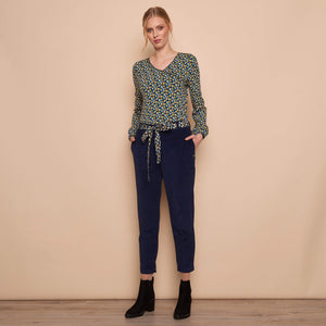 Relaxed Fit Stretch Corduroy Pant Marit