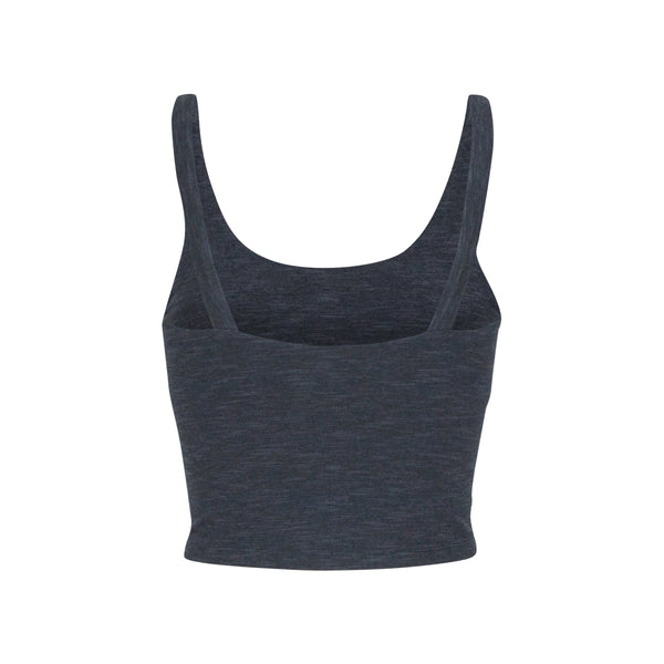 Crop Top Ria Anthracite Melange