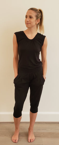 Chandra Jumpsuit Black