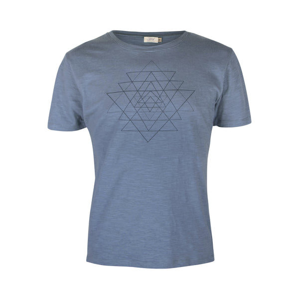 T-Shirt Matteo Blue Grey