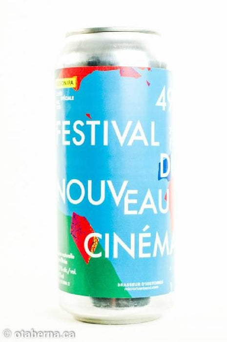 Riverbend - Session IPA du Festival du nouveau cinema