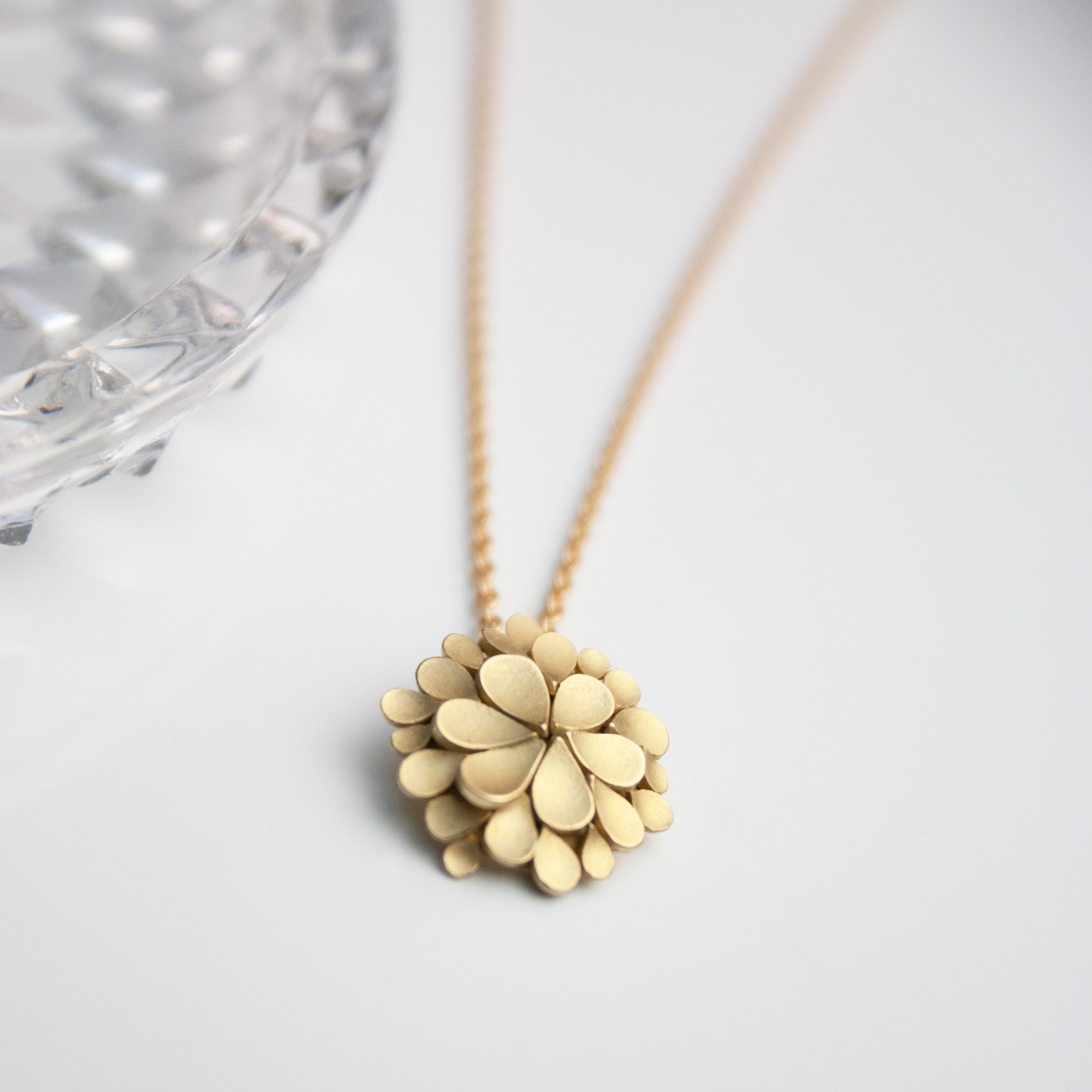 Dahlia 18ct. Gold Necklace