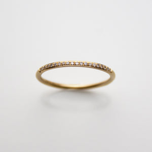 Fine 18ct. Gold and Diamond Band
