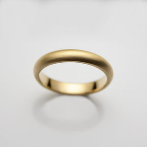 18ct. Gold Mens Band 3.5mm