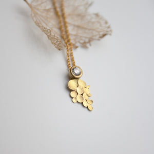 Wisteria 18ct. Gold and Diamond Necklace
