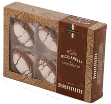 Upload the image to the Gallery viewer, Ricciarelli with chocolate 250 g