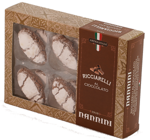 Ricciarelli with chocolate 250 g