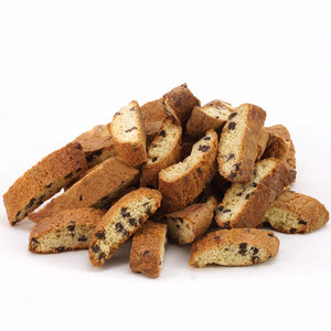 Cantucci with chocolate