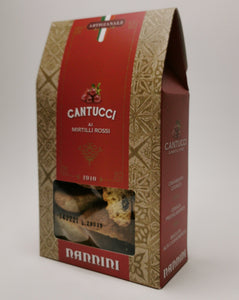Cantucci with cranberries 200 g