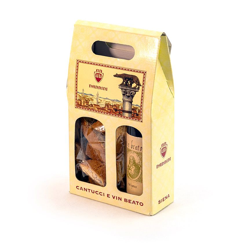 Cantucci e Vin Beato - 200 g + 375 ml