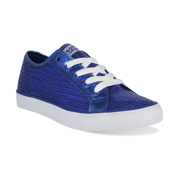 Gotta Flurt Women's Disco II Blue Sequin Dance Sneaker