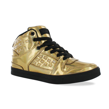 Gotta Flurt Women's Hip Hop HD III Gold/Black Dance Sneaker
