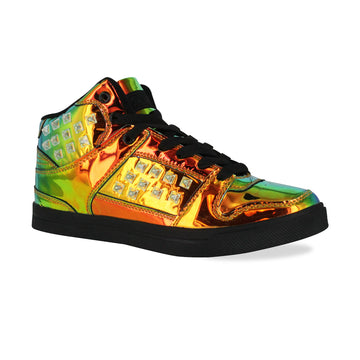 Gotta Flurt Women's Hip Hop HD III Gasoline/Black Dance Sneaker