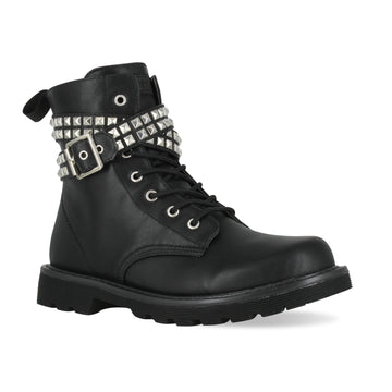 Gotta Flurt Women's Lani Black Dance Combat Boot