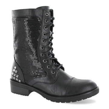 Gotta Flurt Women's Swag HD Black Dance Combat Boot