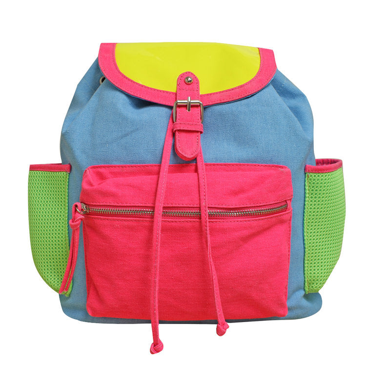Gotta Flurt Girl's Breakdown Neon Backpack