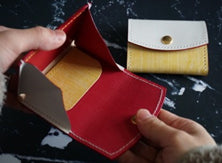 Shike dyed coin case w-no23