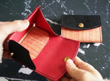 Shike dyed coin case b-no15