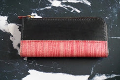 Wallet with dyed syche b-no1