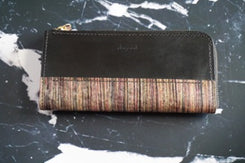 Wallet with dyed syche b-no7