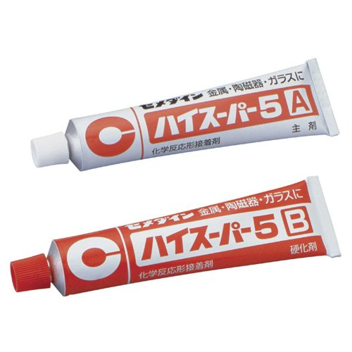 5 80 g set CA-186 yes super for CEMEDINE five minutes hardening type epoxysystem adhesive