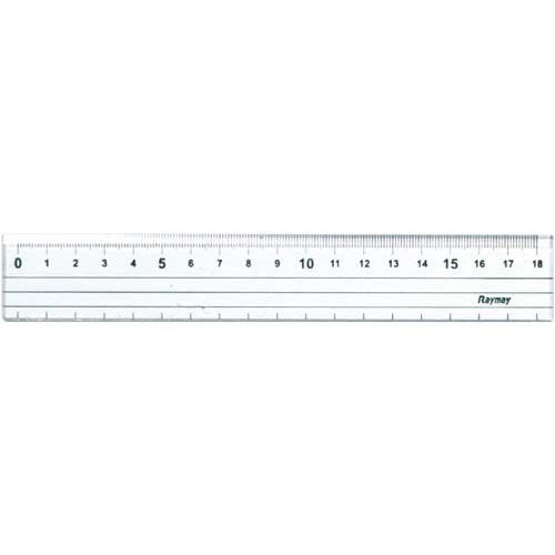 Lei cutting ruler 18 CM ACJ280 4902562353302