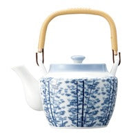 (VIII) teapot bamboo tea strainer with a net 10311