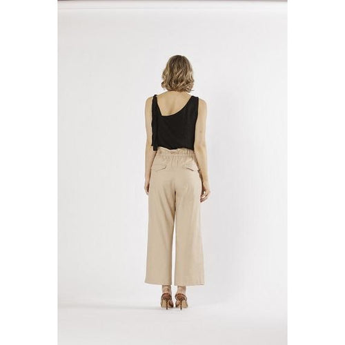 Paloma High Waisted Pant Latte