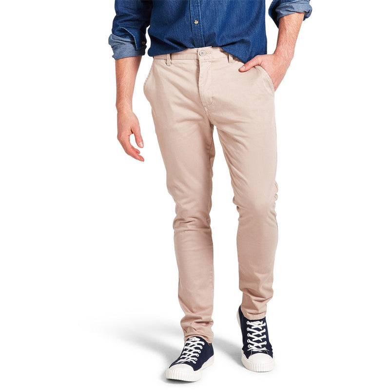 Skinny Stretch Chino Concrete