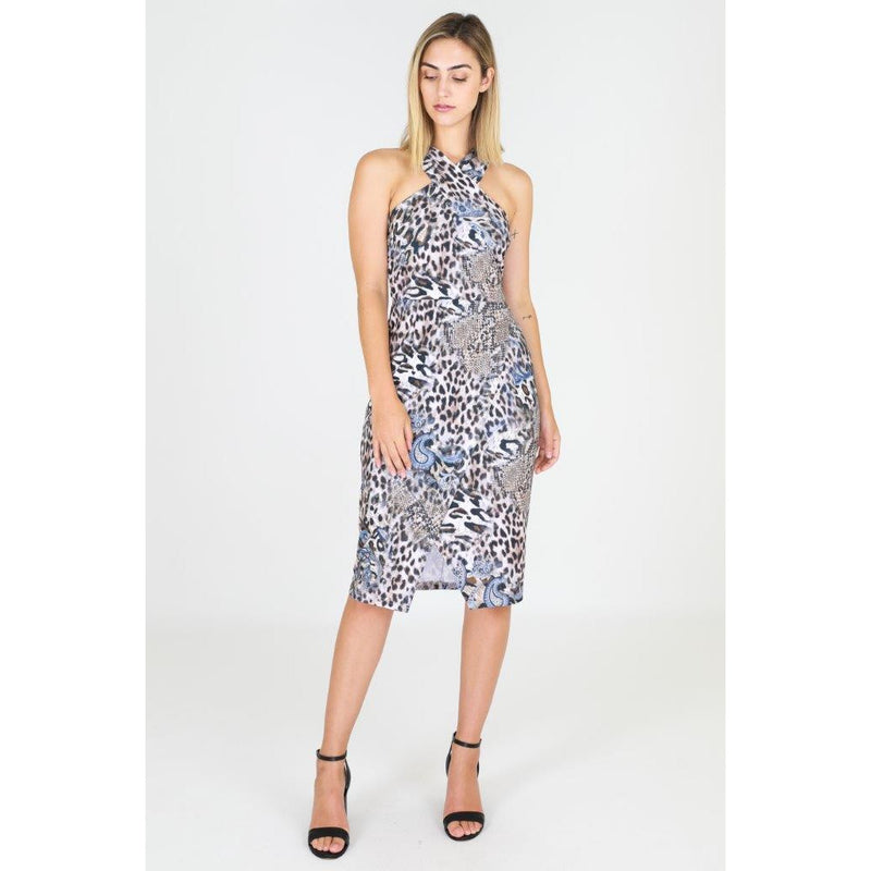 Hailey Leopard Dress