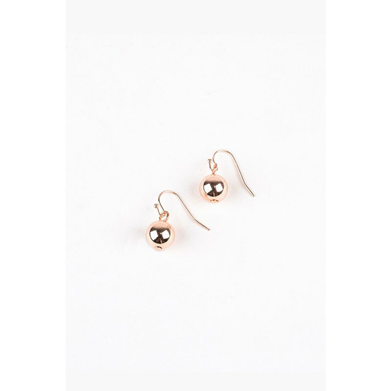 Ball Hook Earring Rose