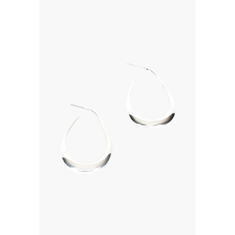 Tear Drop Earring Silver
