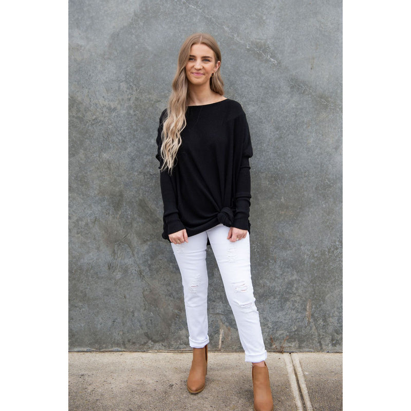 Aurora Knit Black-Harper & Co Boutique