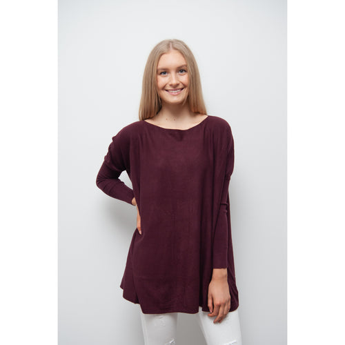 Aurora Knit Plum