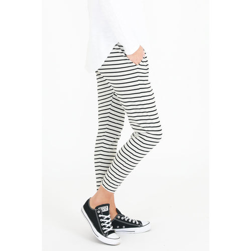 Bondi Pants White Stripe
