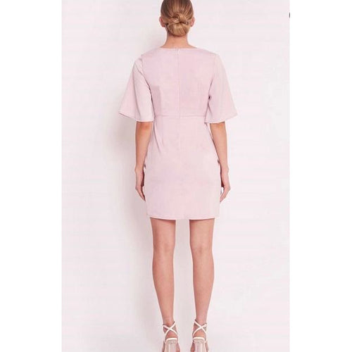Holly Frill Dress Lilac