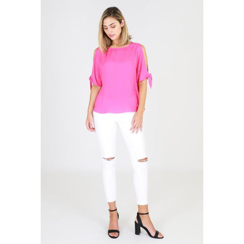 Abby Tie Top Pink