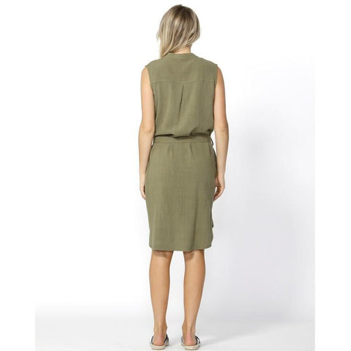 Kace Midi Dress Khaki