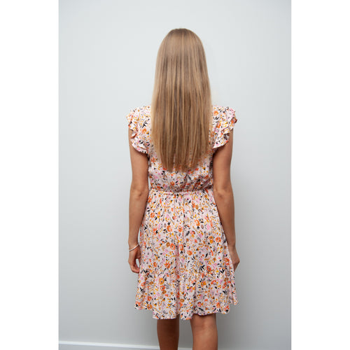 Katie Floral Button Front Dress