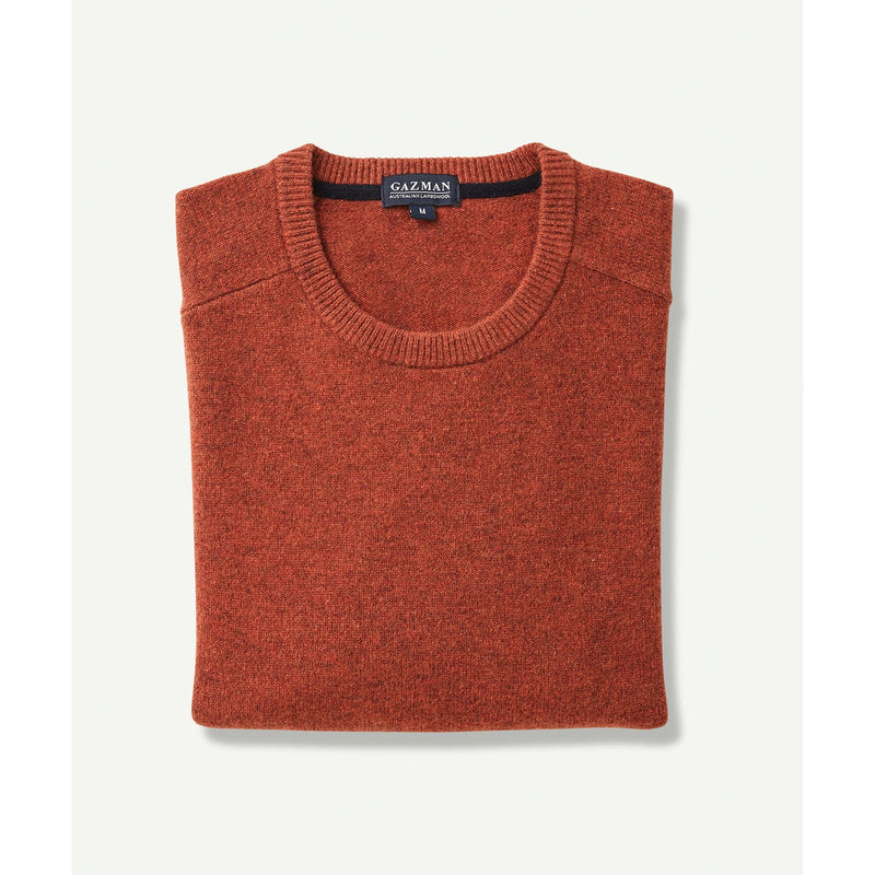 Lambswool Crew Orange