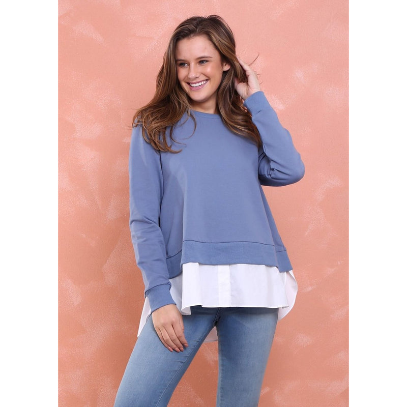 Lara Shirt Jumper Blue