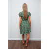 Layla Print dress Green