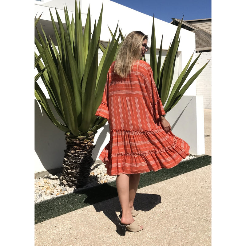 Lottie Dress Coral