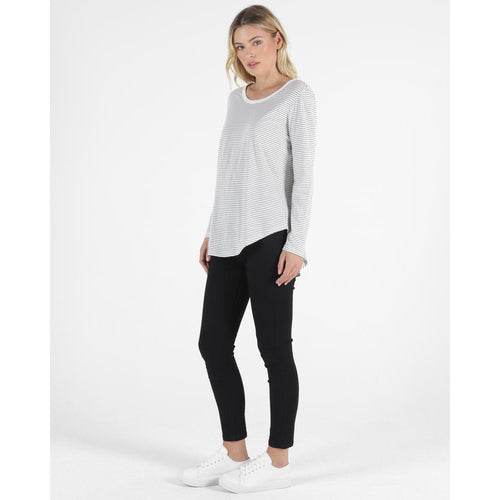 Megan Long Sleeve Stripe